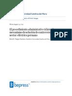 El procedimiento administrativo trilateral como mecanismo de solución de controversias en el sector electrico peruano - RDA 17_stamped-convertido.docx
