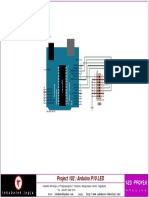 Skematik Arduino P10 LED