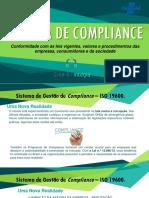 Sistema de Compliance - CREA Renato Regazzi ISO 19600 e 37001