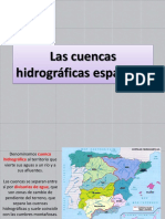 Las cuencas hidrográficas españolas - copia.pptx