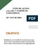 Presentacion Comites Convivencia Resumen