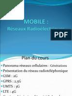 1 GSM Réseaux Radioélectriques