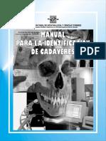 Manual para la identificación de cadáveres