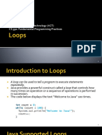 2. Loops and Methods