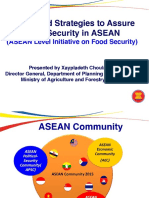 Issues and Strategies to Assure Food Security in ASEAN -   by Xaypradeth Update