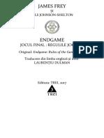 Frey, James - Endgame 3. Jocul Final - Regulile Jocului (& Johnson-Shelton, Nils) f.s.1.0