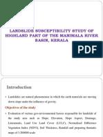 Landslide Susceptibility Ppt
