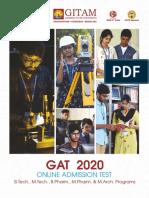 Gat 2020 Brochure