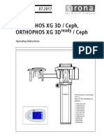 Orthophos XG 3D Manual