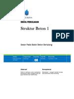 Struktur Beton 1 - Modul 8 Cover