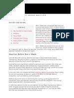 Roe v. Wade_ Decision, Summary & Background - HISTORY
