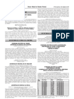 DODF 234 10-12-2019 Resultado Completo Sorteio Nota Legal