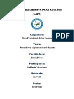 tarea 5 y 6 Etica profecional docente.docx