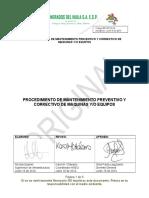 PROCEDIMIENTO DE MANTENIMIENTO PREVENTIVO Y CORRECTIVO DE MAQUINAS YO EQUIPOS.doc