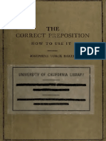 Teachers' Library The correct Preposition How to Use it .pdf