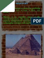 masonry presentation.ppt