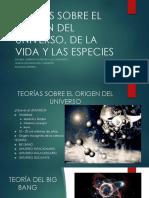 CLASE N°8 TEORÍAS SOBRE EL ORIGEN.pptx