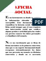 FICHA DE ESTUDIO DE CASO SOCIAL