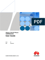 Manual de Usuario ESpace 7910 IP Phone