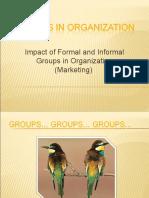 Groups in Organisation