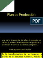 1.- Plan de Producción