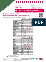 Info Trafic - Axe x _ Orleans-Vierzon-bourges Du 11-12-2019
