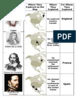 Explorer Notes for Workbook