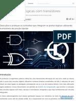 Portas lógicas com transistores.pdf