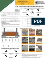 Proceso Constructivo de una vivienda;  Infografia