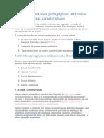 5 métodos pedagógicos utilizados no Brasil e suas características.docx
