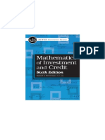 Livro Matemática Financeira Maths and Credit