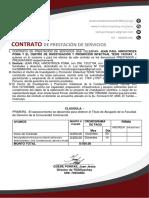 Contrato Jean Paul Hinostroza
