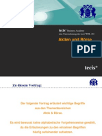 Finanz Deutsch - Aktien Und Börse