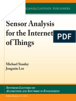 (Synthesis Lectures on Algorithms and Software in Engineering 17) Michael Stanley, Jongmin Lee - Sensor Analysis for the Internet of Things-Morgan & Claypool Publishers (2018).pdf