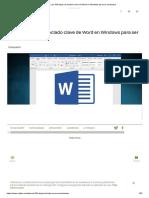 Los 184 atajos de teclado clave de Word en Windows para ser productivo.pdf