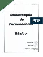 Qualificação de Fornecedores
