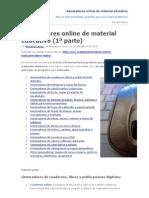 Generadores online de Material Educativo. Más de 150 herramientas gratuitas para crear materiales didácticos