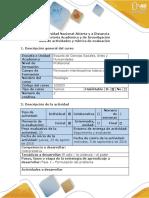 Guia de Actividades y Rúbrica de Evaluación - Fase 1 - Formulación Del Problema