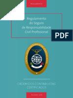 04 Regulamento Do Seguro de Responsabilidade Civil Profissional - OCC