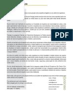 Coverletter 0.1 Portugal