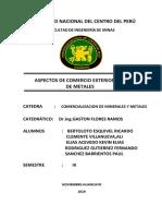 Comercializacion de Minerales y Metales-II Parcial
