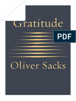 [2015] Gratitude by Oliver Sacks      Knopf
