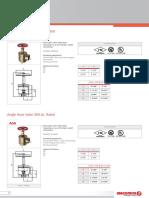 Valvula Angular A55 y A56