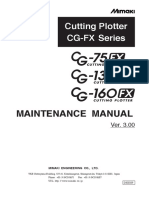 Mimaki CG-FX Maintenance Manual D500209_Ver3.00.pdf