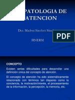 Psicopatologia de La Atencion