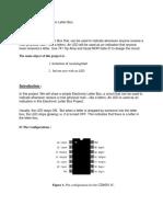 Digital Letter Box Project Report