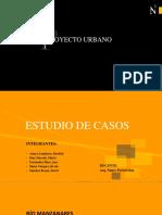 Estudio de Casos Proyecto Urbano