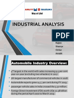 MARUTI SUZUKI INDUSTRIAL ANALYSIS Final.pptx