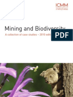 ICMM Biodiversity Case Studies