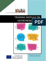 Training Module on Entrepreneurship - RAISE Project